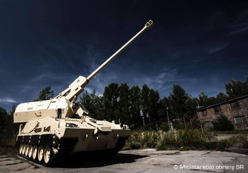 Nouvelles des systèmes d'artillerie 155-mm