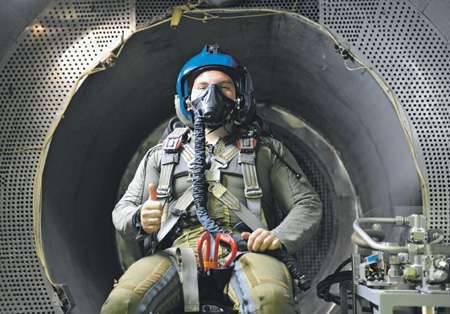 Le travail en vol dépend non seulement de la qualité des armes et des compétences du pilote