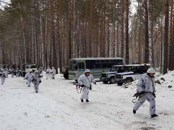 Mars 27 - Journée des troupes de l'intérieur de la Fédération de Russie