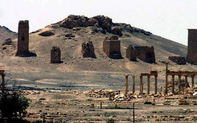 Palmyra Kalesi IG Fighters'dan Kurtuldu