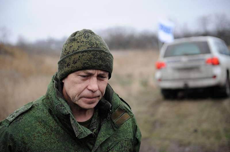 """Basurin: como resultado da """"provocação sem talento"""" das Forças Armadas da Ucrânia, cinco combatentes foram perdidos"""