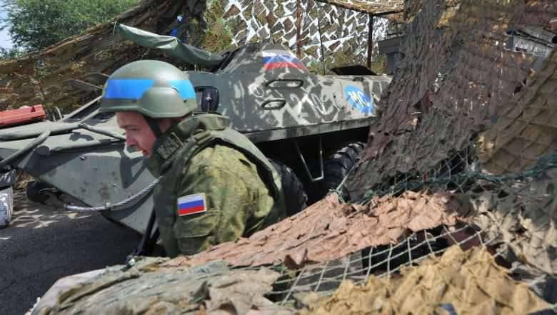 Como parte da auditoria, a brigada russa de manutenção da paz ficou alarmada
