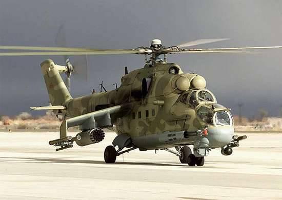 クメイミム空軍基地からロシアに向けて打ち上げられたXNUMX機のヘリコプター