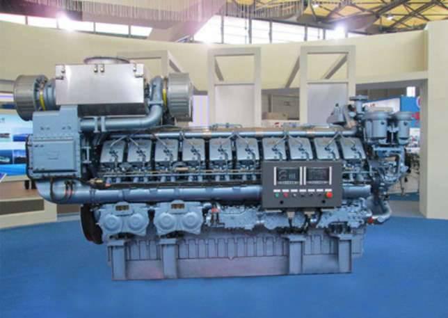 Motores chineses para o projeto ISC 21631