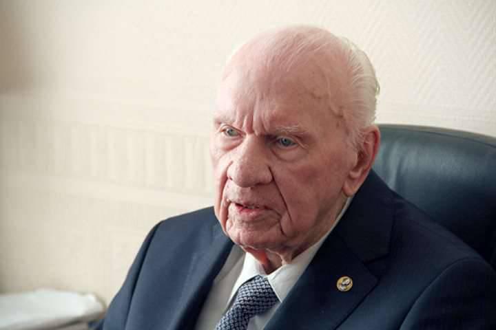 O acadêmico Savin morreu - o desenvolvedor de um sistema de defesa aeroespacial