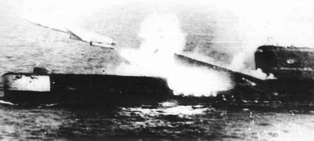 Sous-marins missiles de croisière P-5