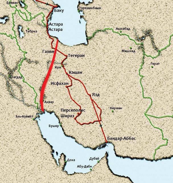 Vom Kaspischen Meer zum Persischen Golf?