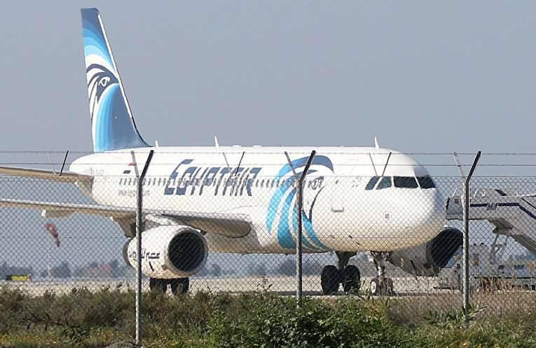 Airliner A320, capturado por pessoas desconhecidas, pousou em Chipre