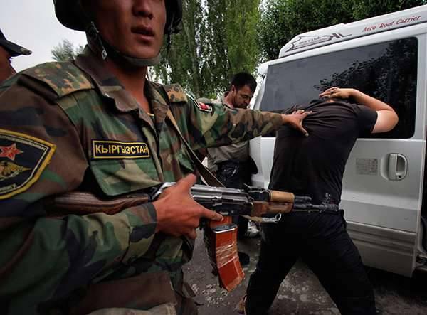 Vertreter des terroristischen Untergrunds werden in Kirgisistan festgenommen