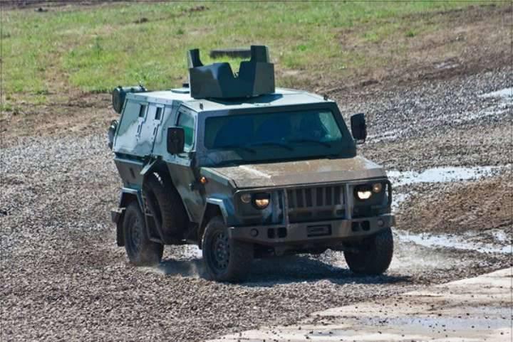 Scorpion testé pour sa résistance à l'aide d'un projectile de 152 mm