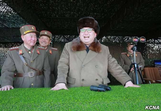 Nordkorea startete einen weiteren Kurzstreckenraketenstart in Richtung Japanisches Meer