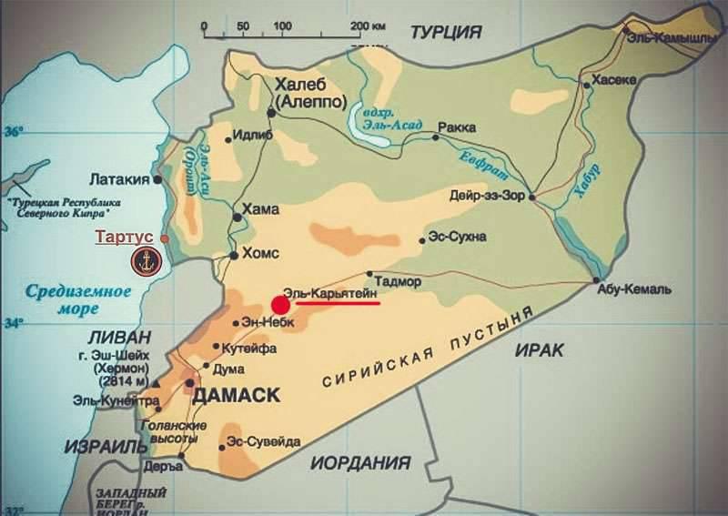 सीरियाई जमीनी ताकत, एसएआर की वायु सेना और रूसी संघ की वायु सेनाओं के समर्थन के साथ, अल-करायतन में आतंकवादियों की अंगूठी ले