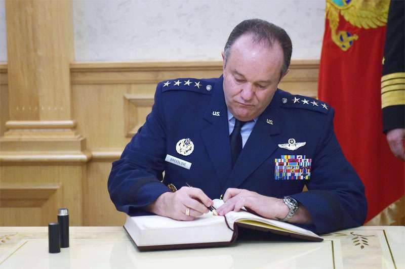"""布雷德洛夫将军呼吁北约飞行员准备击退波罗的海上空的""""空中威胁"""""""