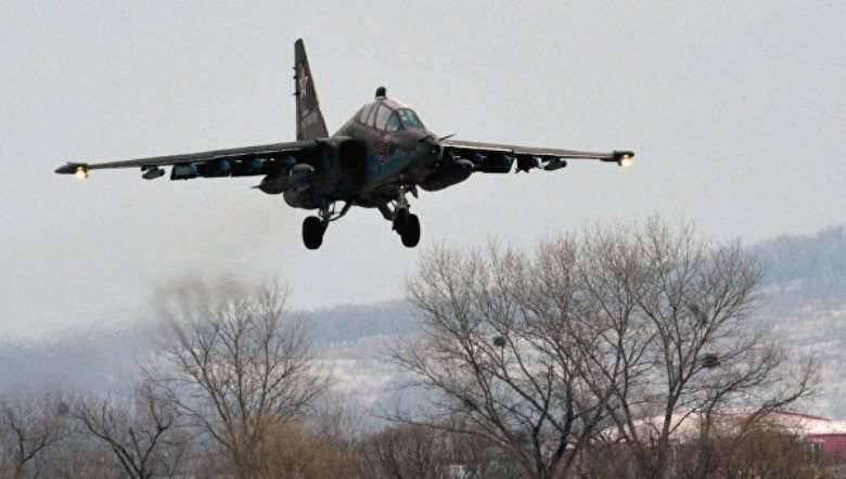 Su-25 प्रिमोरी में दुर्घटनाग्रस्त हो गया