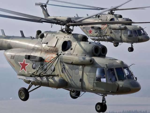 Helicópteros do VO começaram a monitorar áreas perigosas de incêndio da Transbaikalia