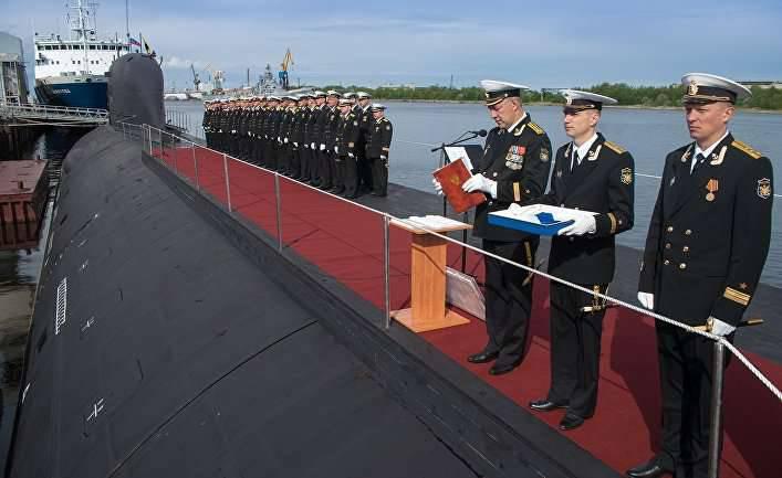 新俄罗斯超级潜艇几乎准备战斗(国家利益,美国)