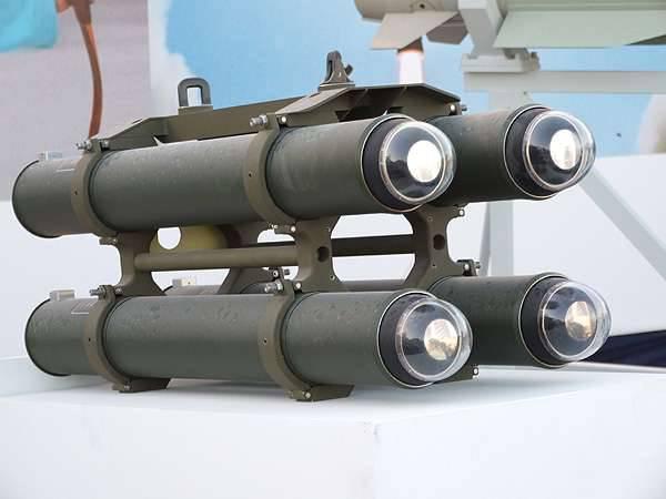 Mi-17 de Azerbaiyán armado con misiles israelíes