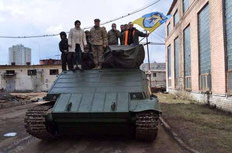 "Em Kiev, começou a testar ""Azovtsa"""