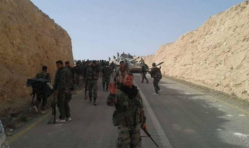 Les unités de l'armée syrienne vont se regrouper pour prendre El Qaryatain