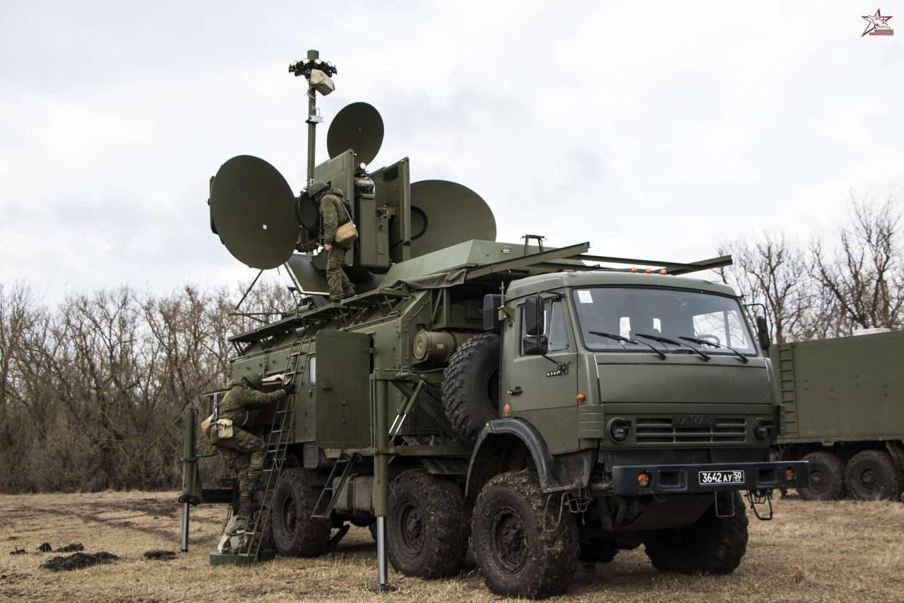 Армия-2016. РЭБ. Комплекс «Красуха-4»