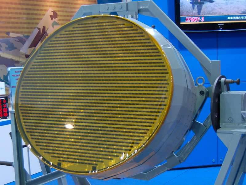 В Ростехе рассказали о начале выпуска радаров с АФАР для новейших многоцелевых истребителей Т-50 (ПАК ФА)