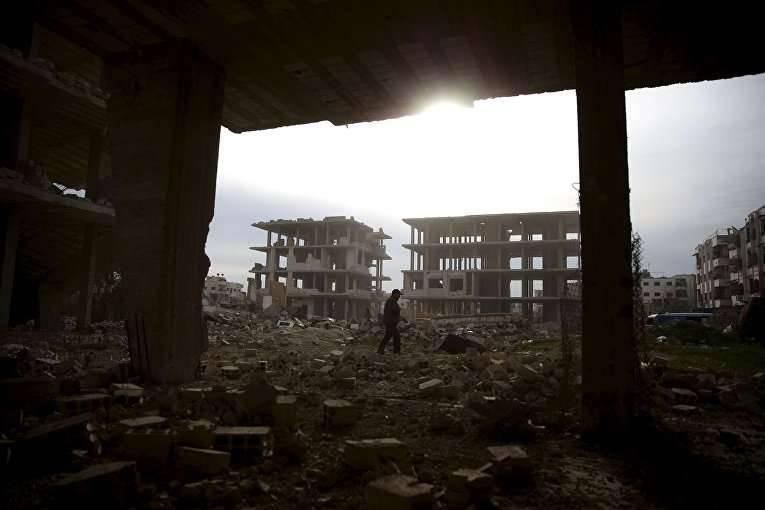 """State Department: Vermutlich hat das """"Assad-Regime"""" einen Luftangriff auf Zivilisten in der Nähe von Damaskus durchgeführt"""