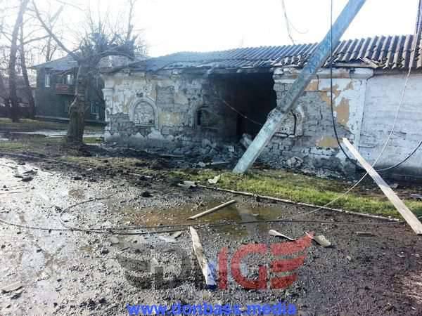 In der Nähe von Donetsk hat die Miliz Artilleriefeuer zurückgeschossen