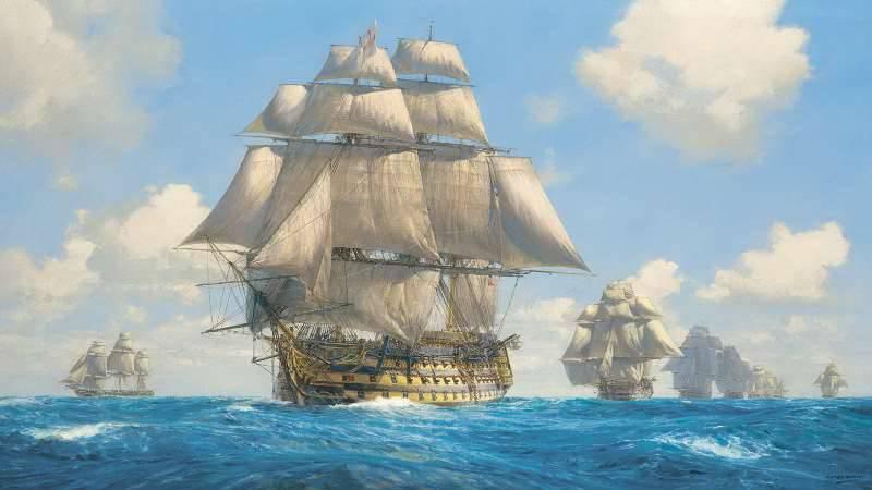 우리가 터키와 동맹을 맺었을 때, 프랑스는 바다를 때렸습니다.