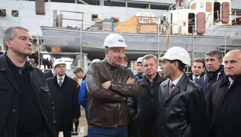 """Theodosia shipyard """"Sea"""" começará a construir naves de foguete"""