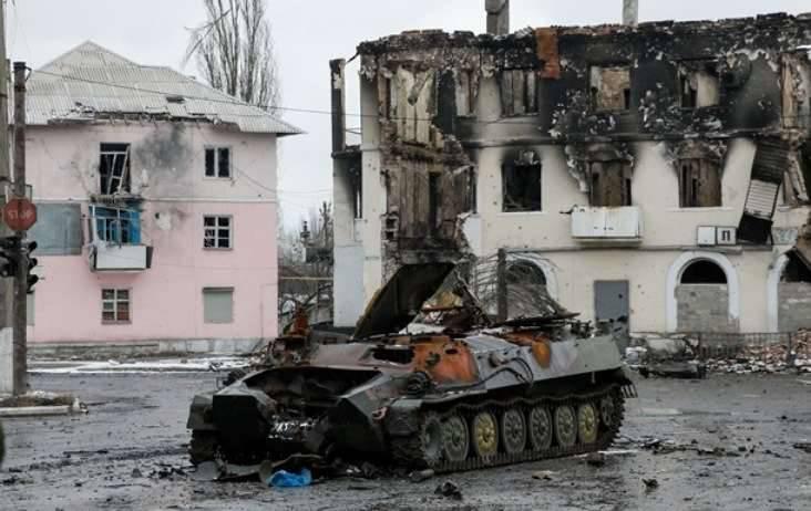 DNR:在Debaltsevo地区发现了乌克兰军队的葬礼