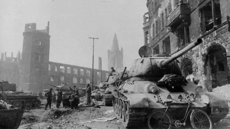 俄罗斯人在三天内将无法接近的德国精神堡垒摧毁