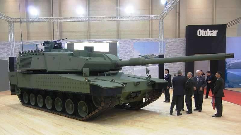 तुर्की के रक्षकों ने अल्ताई टैंकों के बड़े पैमाने पर उत्पादन शुरू करने की अपनी तत्परता की घोषणा की