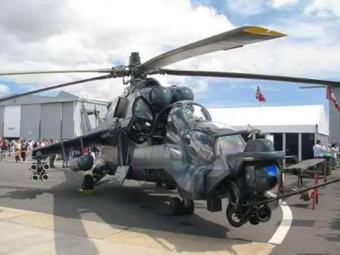 Nagorno-Karabakh에서 격추 된 헬리콥터 SuperHind Mk IV가 우크라이나에서 아제르바이잔에 입항했습니다.