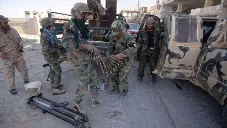 हाल ही में आजाद हुए सीरियाई एल कारजेटिन में रूस के आतंकवादियों की मौजूदगी के निशान पाए गए थे