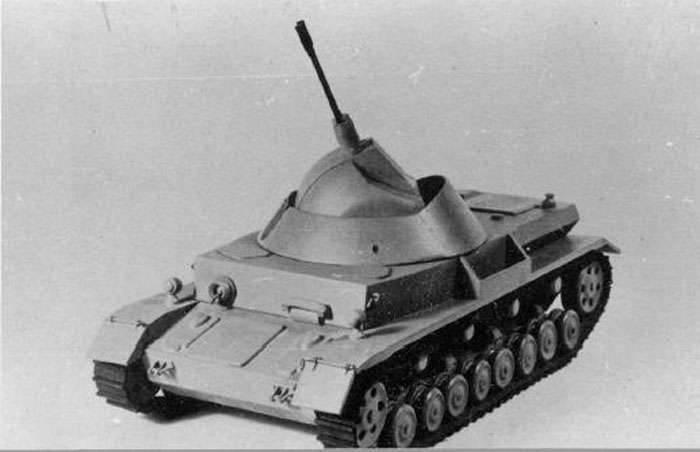 대공 비행 자체 설치 Flakpanzer IV Kugelblitz (독일)