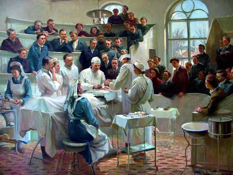 Büyük cerrahın doğumunun 180 yıldönümü Nikolai Vasilievich Sklifosovsky