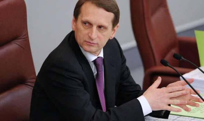 Sergei Naryshkin: Se a Rússia estivesse em guerra com a Ucrânia, a guerra duraria no máximo 4 dias