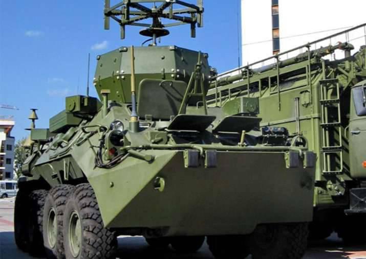 남부 군사 지구에는 EW 부대와의 훈련 세션이 있습니다.
