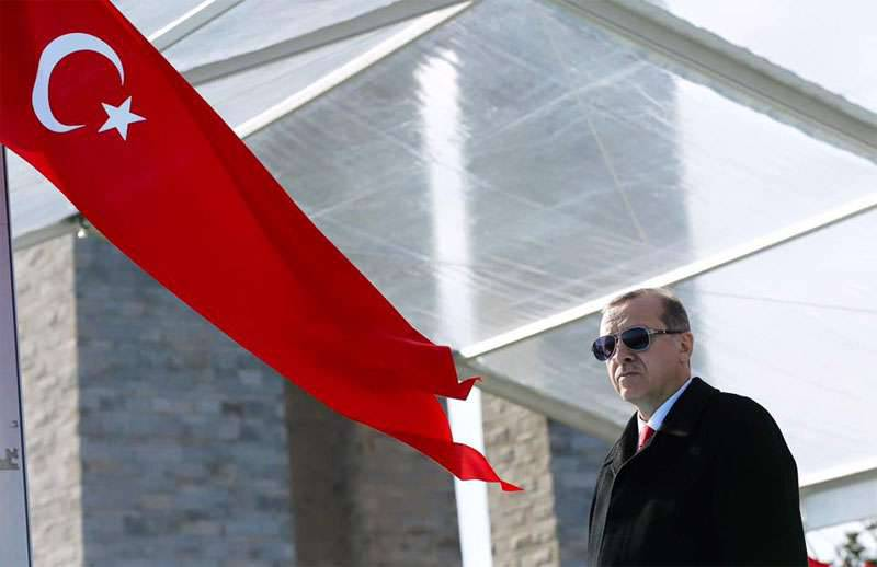 Erdogan accused Russia of participation in the Nagorno-Karabakh conflict