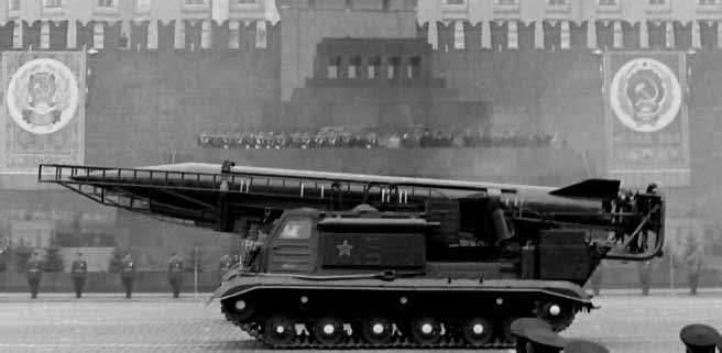 "Sistema de mísseis tático soviético 9K72 ""Elbrus"""