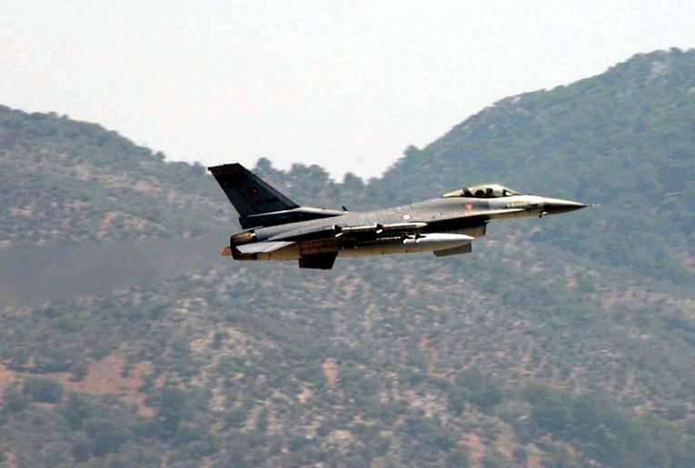 La Turquie a de nouveau infligé des frappes aériennes aux positions du PKK en Irak