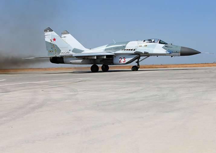 O treinamento com o esquadrão MiG-29SMT começou na região de Kursk