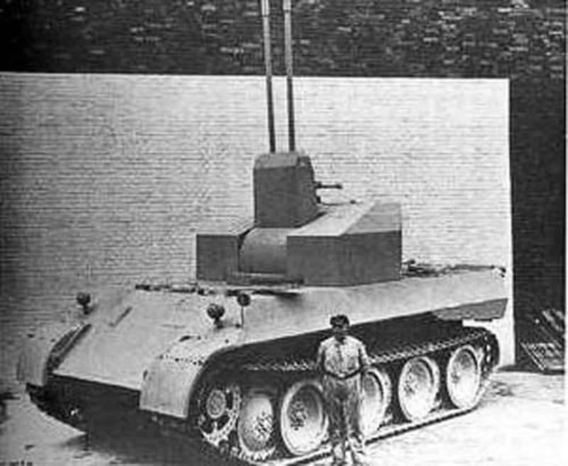 ПВО. Проекты зенитных самоходных установок на базе танка Pz.Kpfw.V Panther (Германия)