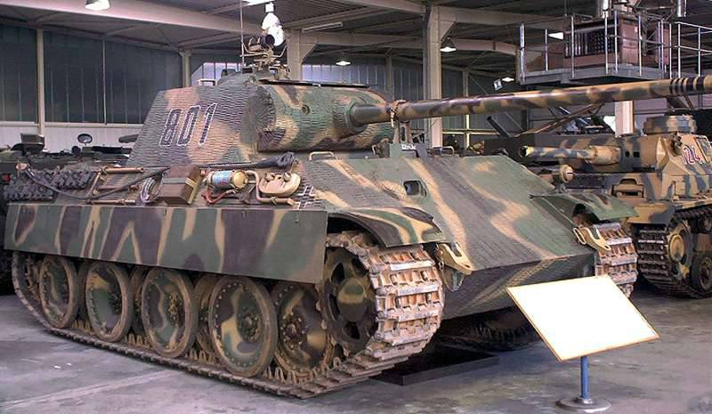 Projects of self-propelled anti-aircraft installations based on the tank Pz.Kpfw.V Panther (Germany)