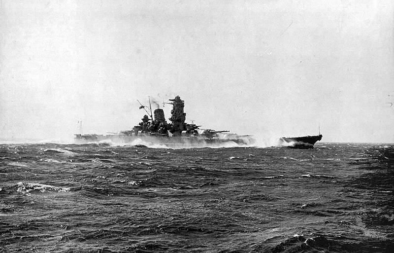"""Stahl gefallen Sakura Blütenblatt: die Geschichte und der Tod des Schlachtschiffes """"Yamato"""""""