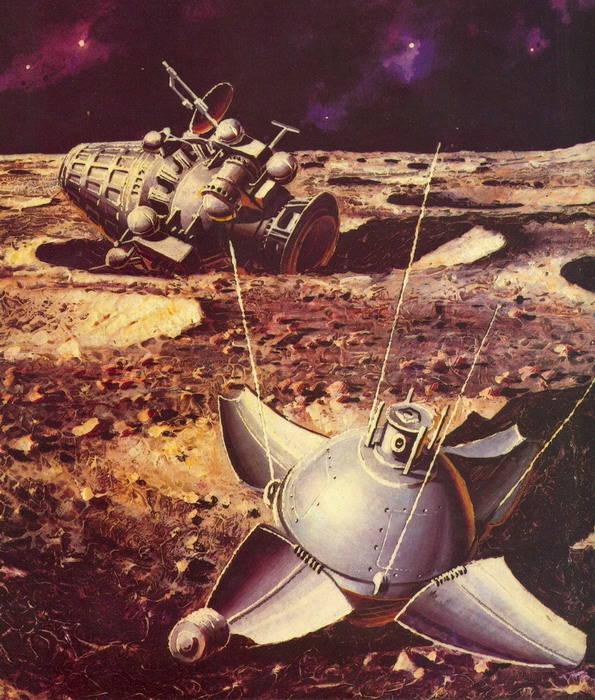 ソ連とアメリカの宇宙探査
