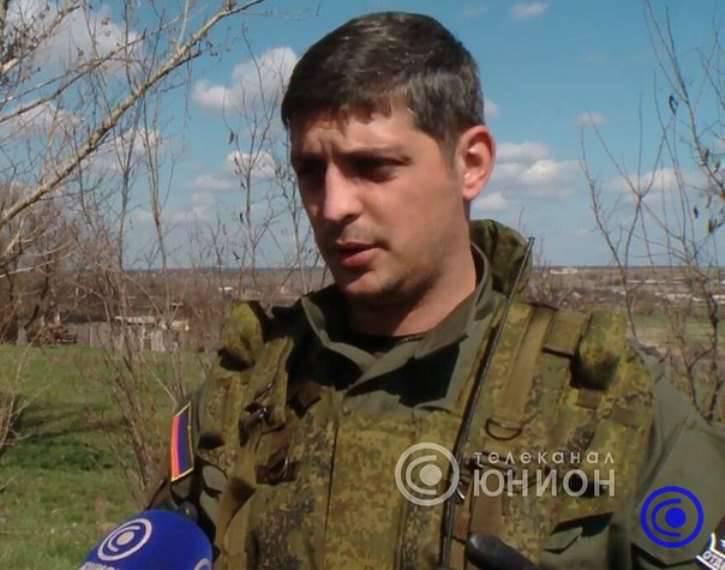 """La caza del comandante del batallón """"Givi""""."""