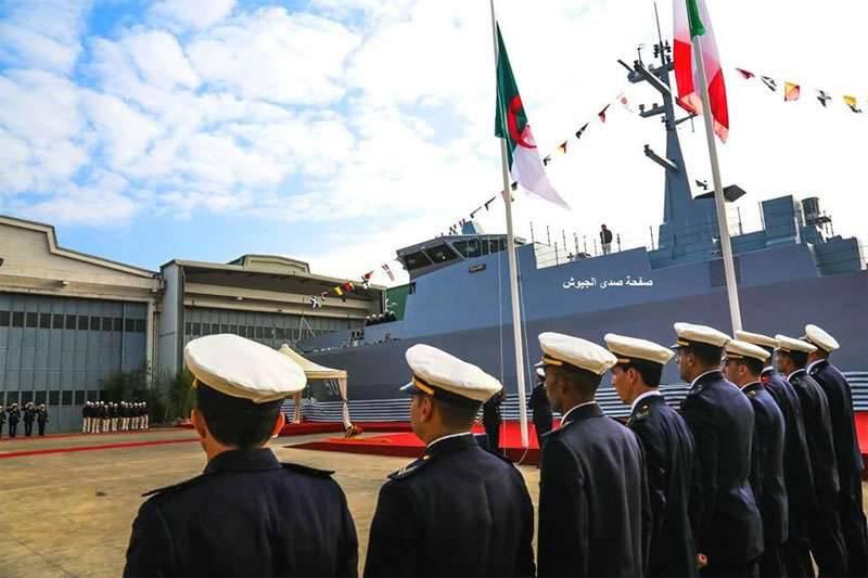 Intermarino italiano lança caça-minas para a Marinha argelina
