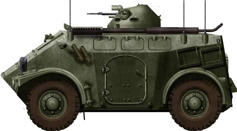 Véhicule blindé de transport de troupes M3 de la société française Panhard Defence