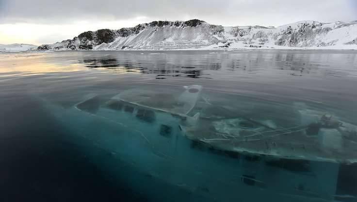 фото затопленные корабли